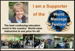 Click Badge to Visit World Massage Festival
